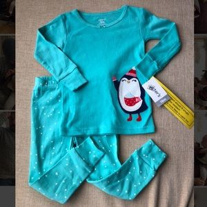 NWT Carter's Penguin two piece set